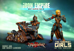 Iron Empire Heavy Weapons Team #3: Rocket Launcher & Energy Gun