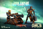 Iron Empire Heavy Weapons Team #2: Gatling & Machine Gun