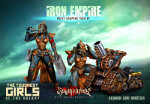 Iron Empire Heavy Weapons Team #1: Mortar & Cannon