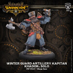 Winter Guard Artillery Kaptain