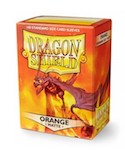 Dragon Shield 100 Box - Matte Orange