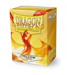 Dragon Shield 100 Box - Matte Yellow