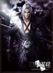 Final Fantasy TCG Sleeves: FFVII Dissidia Sephiroth (60)