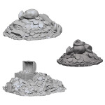 WizKids Unpainted Miniatures: Treasure Piles