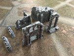 Ruins and Gates of the Realms Half Set