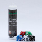 Blackfire Dice - 16mm Assorted D10 Dice 00-90 (5 Dice)