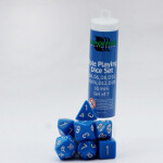 Blackfire Dice - 16mm Role Playing Dice Set - Blue (7 Dice)