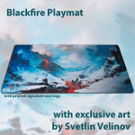 Blackfire Playmat - Svetlin Velinov Edition - Mountain