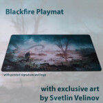 Blackfire Playmat - Svetlin Velinov Edition - Swamp