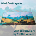 Blackfire Playmat - Svetlin Velinov Edition - Plains