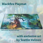 Blackfire Playmat - Svetlin Velinov Edition - Forest