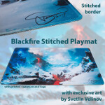 Blackfire Stitched Playmat - Svetlin Velinov Edition - Mountain