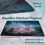 Blackfire Stitched Playmat - Svetlin Velinov Edition - Swamp