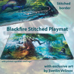 Blackfire Stitched Playmat - Svetlin Velinov Edition - Forest