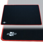 Blackfire Playmat - Black with Red Stitching