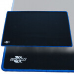 Blackfire Playmat - Black with Blue Stitching