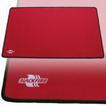 Blackfire Playmat - Red with Black Stitching