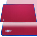 Blackfire Playmat - Red with Blue Stitching