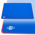 Blackfire Playmat - Blue with Red Stitching