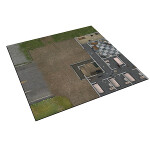 Deluxe Gaming Mat: Prison Grounds