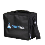 Small Card Case with Compartment Tray: Pirate Lab