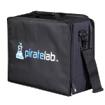 Large Card Case with Compartment Tray: Pirate Lab