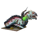 Undead Revenant King on Undead Wyrm