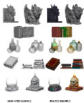 WizKids Unpainted Miniatures: Wizards Room