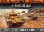 Unit Cards: German Late War