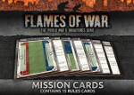 Flames of War Mission Cards (FW007-M)