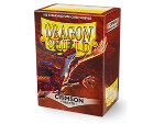 Dragon Shield 100 Box - Matte Crimson