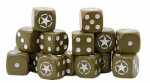 Bolt Action D6 Dice: Allied Star (16)