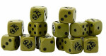 Bolt Action D6 Dice: US Marine Corps (16)