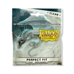 Dragon Shield - Perfect Fit Sideloader - Standard Size 100 - Clear
