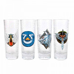 Warhammer: Mini Glasses (Set Of 4) - Chapter