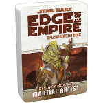 Edge of the Empire Specialization Deck: Bounty Hunter - Martial Artist
