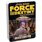 Force and Destiny Specialization Deck: Sentinel - Investigator