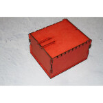 Trading Card Box: Red