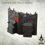 Skargruk Line - Wall 45 degrees