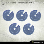 Maneuver Dial Transparent Cover [blue] (5)