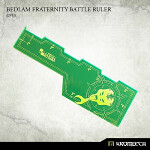Bedlam Fraternity Battle Ruler [green] (1)