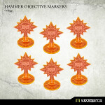 Hammer Objective Markers [orange] (6)