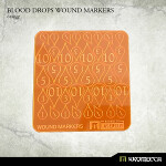 Blood Drops Wound Markers [orange]