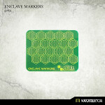 Enclave Markers [green] (20)