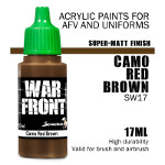 Warfront: SS Camo Red Brown (17ml)
