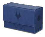 MTG: Blue Mana Matte Finish Dual Flip Box