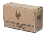 MTG: White Mana Matte Finish Dual Flip Box