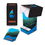 MTG: Mana 5 Island Full View Deck Box with Tray