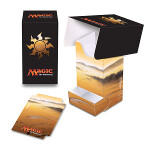 MTG: Mana 5 Plains Full View Deck Box with Tray