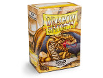 Dragon Shield 100 Box - Matte Gold